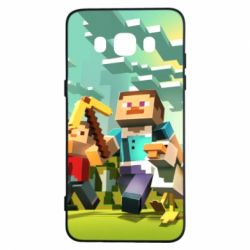 Чехол для Samsung J5 2016 Minecraft1 - FatLine