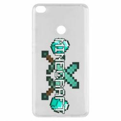 Чохол для Xiaomi Mi Max 2 Minecraft алмазний меч