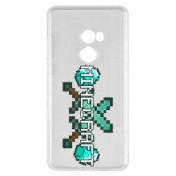 Чохол для Xiaomi Mi Mix 2 Minecraft алмазний меч