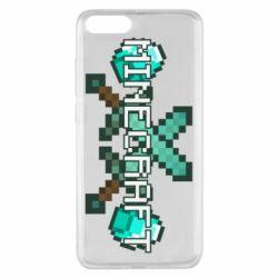 Чохол для Xiaomi Mi Note 3 Minecraft алмазний меч