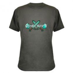 Камуфляжная футболка Minecraft