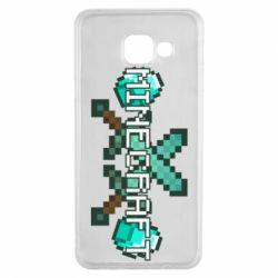Чохол для Samsung A3 2016 Minecraft алмазний меч