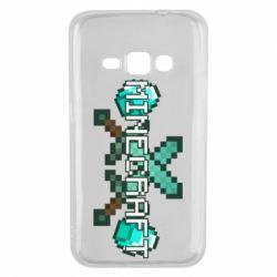 Чохол для Samsung J1 2016 Minecraft алмазний меч