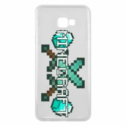 Чохол для Samsung J4 Plus 2018 Minecraft алмазний меч