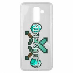 Чохол для Samsung J8 2018 Minecraft алмазний меч