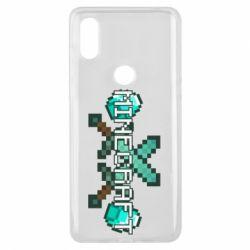 Чохол для Xiaomi Mi Mix 3 Minecraft алмазний меч