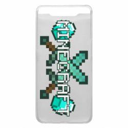 Чохол для Samsung A80 Minecraft алмазний меч