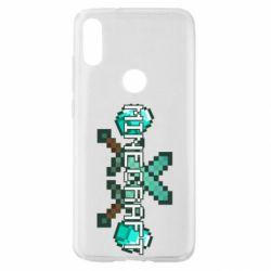 Чохол для Xiaomi Mi Play Minecraft алмазний меч