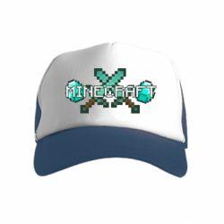 Дитяча кепка-тракер Minecraft алмазний меч