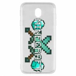 Чохол для Samsung J7 2017 Minecraft алмазний меч