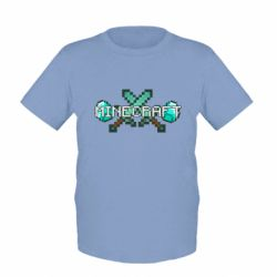 Детская футболка Minecraft - FatLine