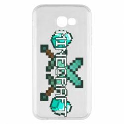 Чохол для Samsung A7 2017 Minecraft алмазний меч