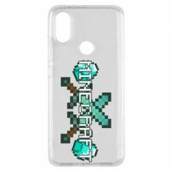 Чохол для Xiaomi Mi A2 Minecraft алмазний меч