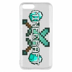 Чохол для Xiaomi Mi6 Minecraft алмазний меч