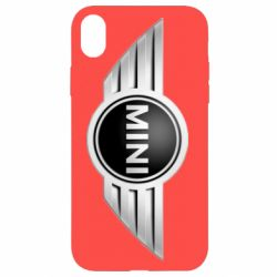 Чехол для iPhone XR Mini Cooper - FatLine