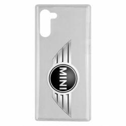 Чехол для Samsung Note 10 Mini Cooper