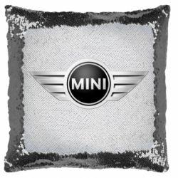 Подушка-хамелеон Mini Cooper