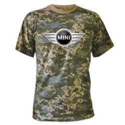 Камуфляжная футболка Mini Cooper - FatLine