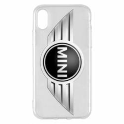 Чехол для iPhone X Mini Cooper - FatLine