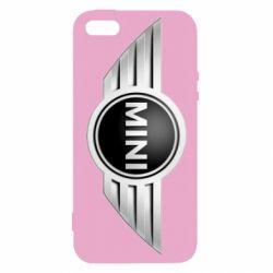 Чехол для iPhone5/5S/SE Mini Cooper - FatLine