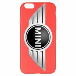 Чехол для iPhone 6 Plus/6S Plus Mini Cooper - FatLine