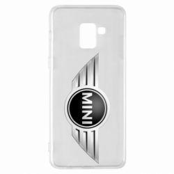 Чехол для Samsung A8+ 2018 Mini Cooper - FatLine