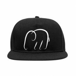 Снепбек Minimalistic elephant