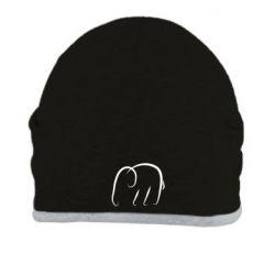 Шапка Minimalistic elephant