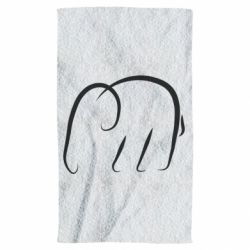 Рушник Minimalistic elephant