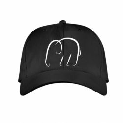 Детская кепка Minimalistic elephant