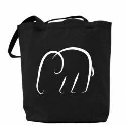 Сумка Minimalistic elephant