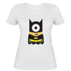Женская футболка Minion Batman