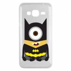 Чохол для Samsung J3 2016 Minion Batman