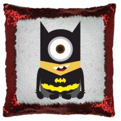 Подушка-хамелеон Minion Batman