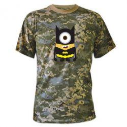 Камуфляжная футболка Minion Batman - FatLine