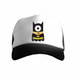 Дитяча кепка-тракер Minion Batman