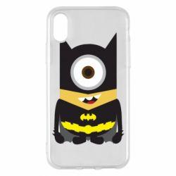 Чохол для iPhone X/Xs Minion Batman