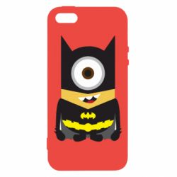 Чохол для iphone 5/5S/SE Minion Batman