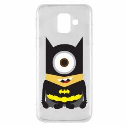 Чохол для Samsung A6 2018 Minion Batman