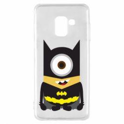 Чохол для Samsung A8 2018 Minion Batman