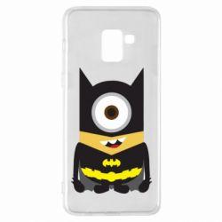 Чохол для Samsung A8+ 2018 Minion Batman