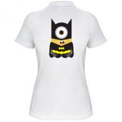 Женская футболка поло Minion Batman - FatLine