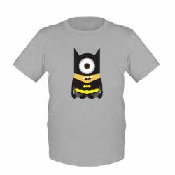 Детская футболка Minion Batman