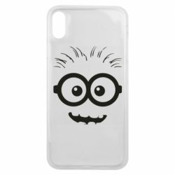 Чехол для iPhone Xs Max Minion head