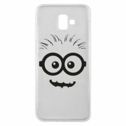 Чехол для Samsung J6 Plus 2018 Minion head