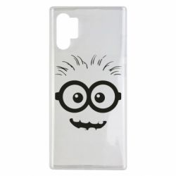 Чехол для Samsung Note 10 Plus Minion head