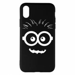 Чехол для iPhone X/Xs Minion head