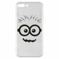 Чехол для iPhone 8 Plus Minion head