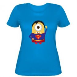 Жіноча футболка Minion Superman