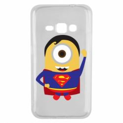 Чохол для Samsung J1 2016 Minion Superman